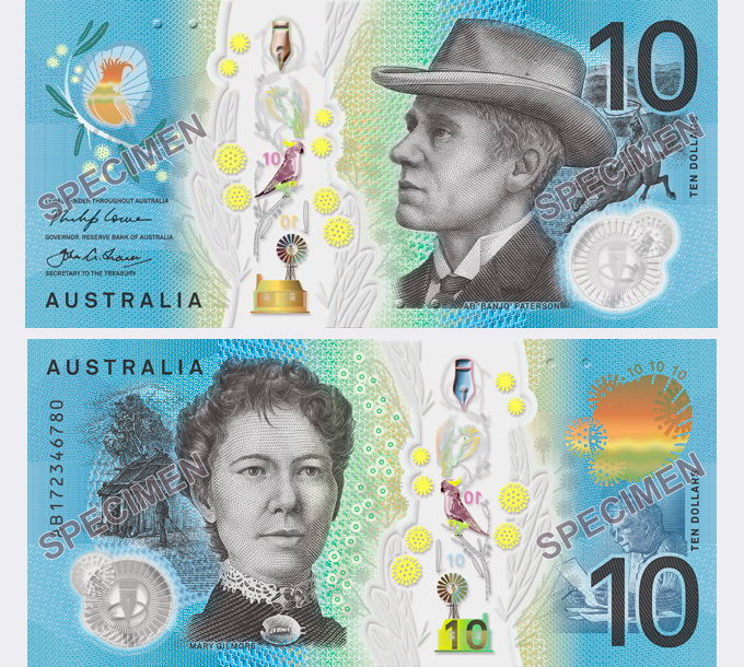 Australian $10 bill
