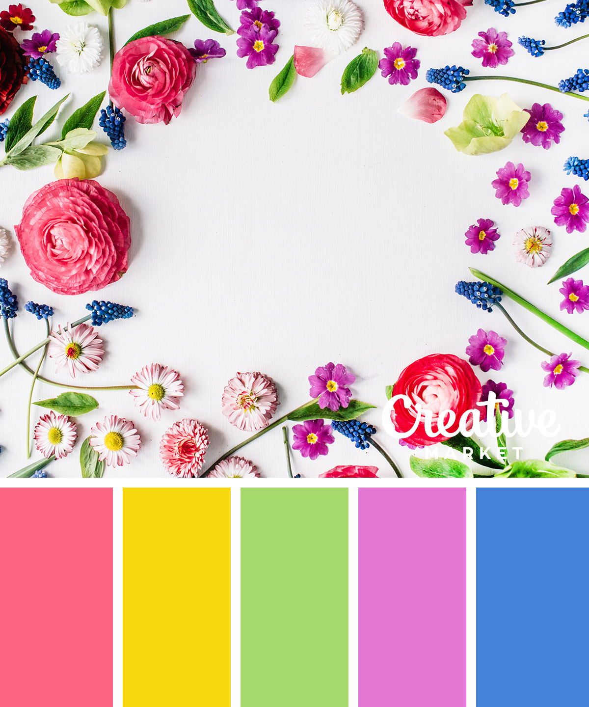 15 Fresh Color Palettes for Spring ~ Creative Market Blog