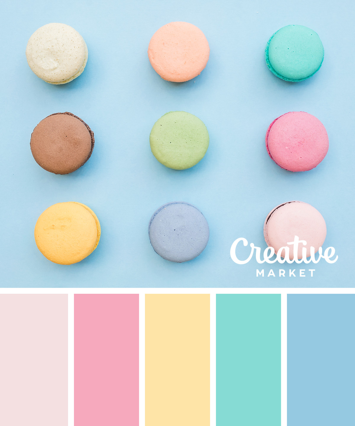 15 fresh color palettes for spring creative market blog