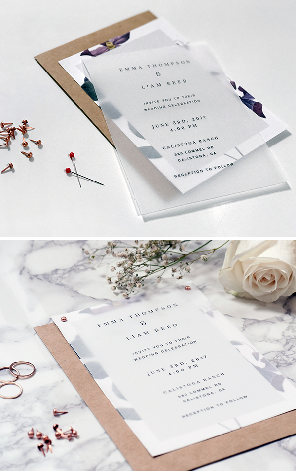 3 DIY Wedding Invitations That Are Unique and Affordable ~ Creative Market Blog