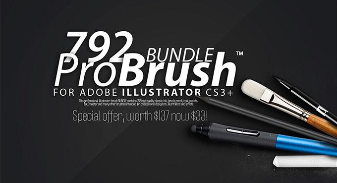 792 bundle brushes