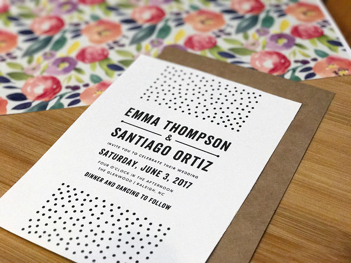 Farmhouse Chic Wedding Invitations