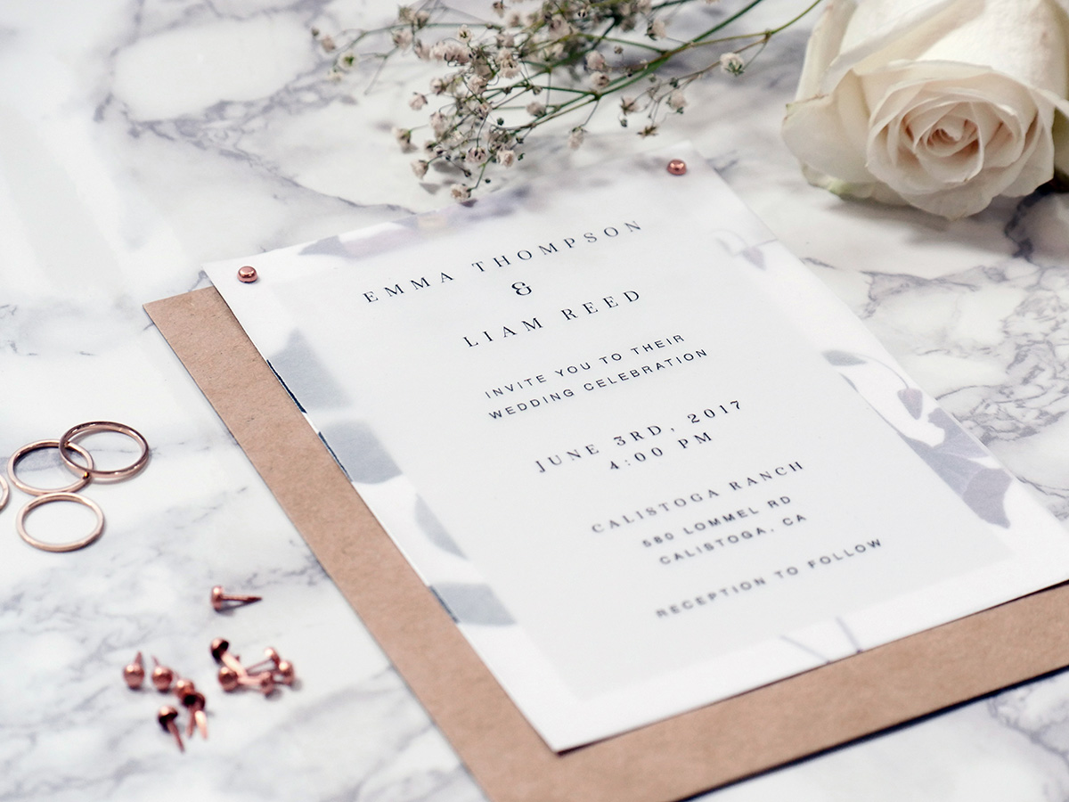 3 DIY Wedding Invitations That Are Unique and Affordable ~ Creative ...