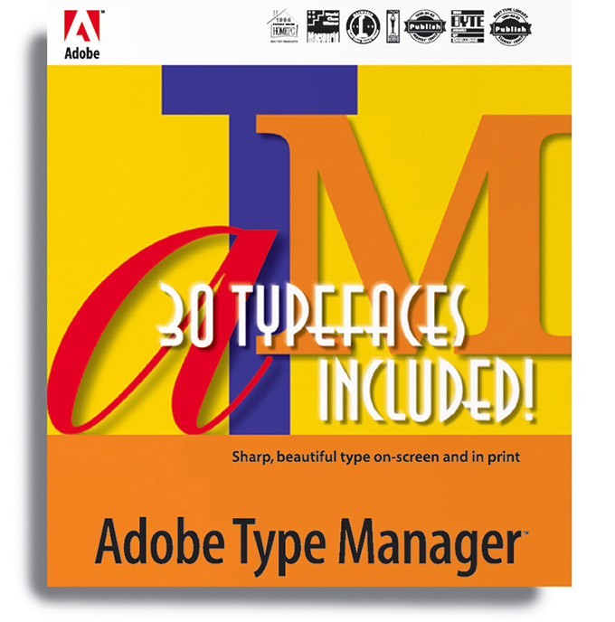 Adobe Typeface Manager