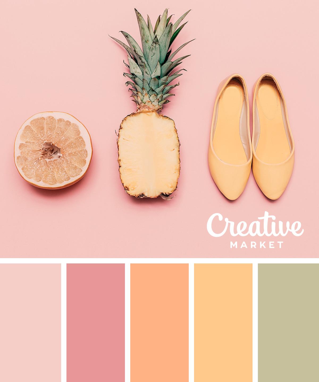 15 Downloadable Pastel Color Palettes For Summer ~ Creative Market Blog