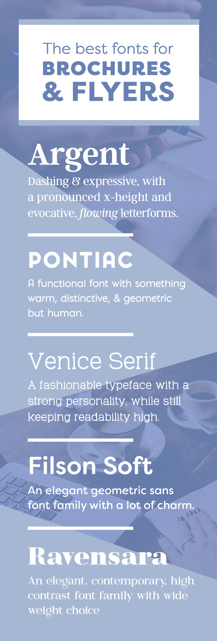 Best fonts for business brochures and flyers that stand out pin it fandeluxe Image collections