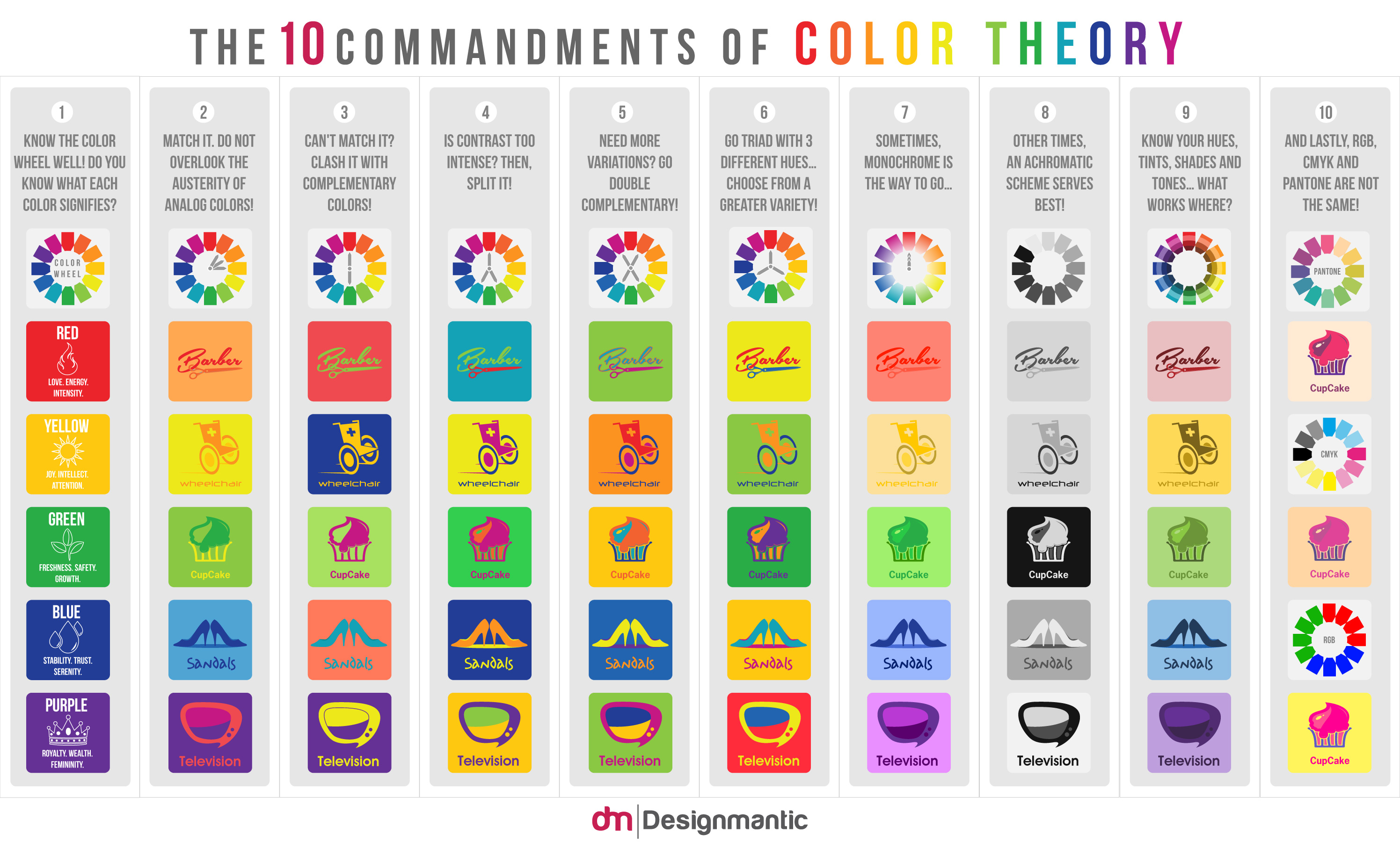 commandments of color