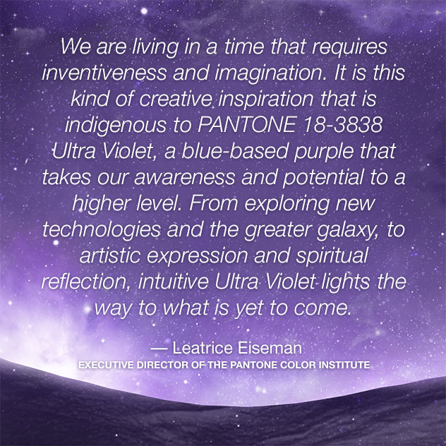 pantone-color-of-the-year-2018-ultra-violet-lee-eiseman-quote Meet Ultra Violet: Pantone's Color of the Year for 2018 - Network Gate - Enterprise Software Development