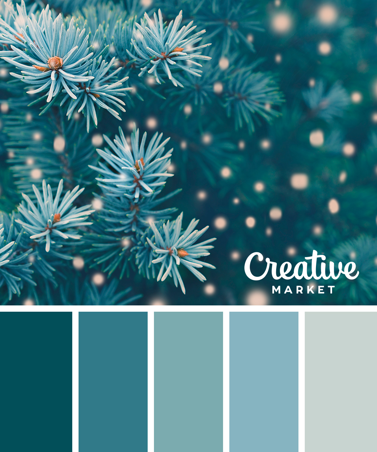 15 Downloadable Color Palettes For Winter | Creative ...
