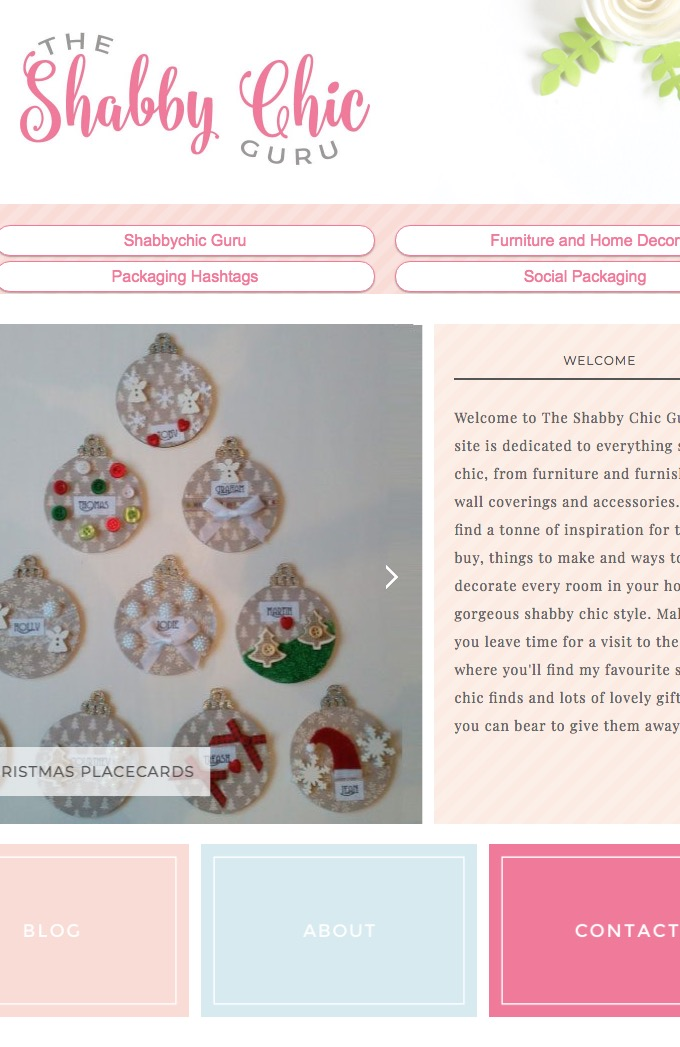 Design Trend Report: Shabby Chic ~ Creative Market Blog