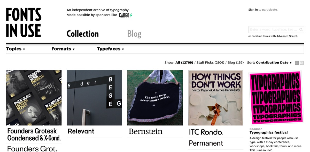 Typography Inspiration: Blogs and Galleries Every Designer
