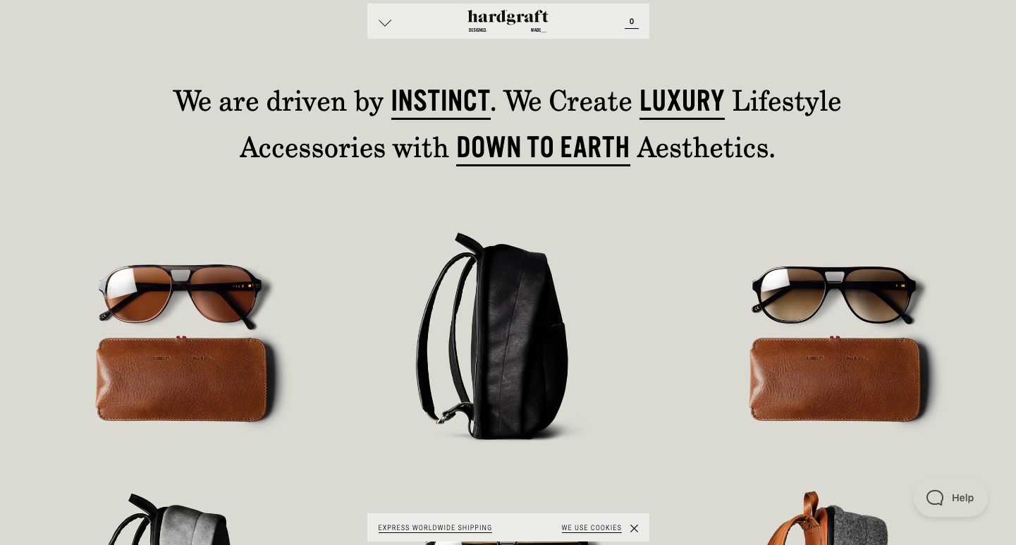 20 Stunning Examples of Typography in E-commerce
