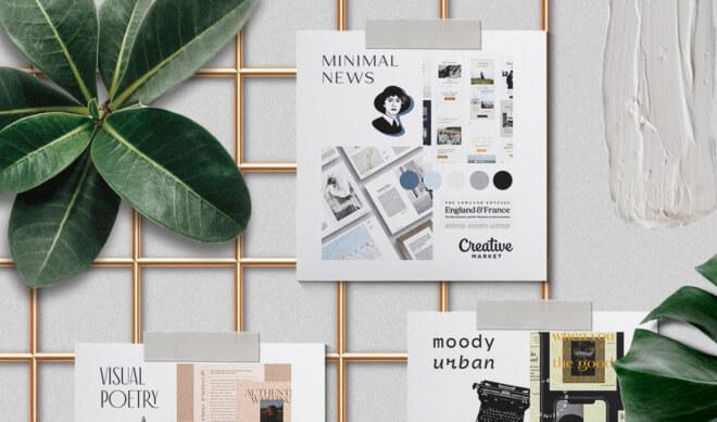 Moodboard Series: Print is Not Dead