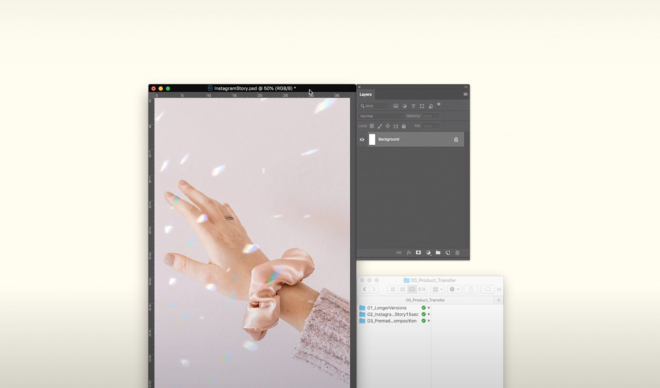 Design It Yourself: Animated Crystal Light Reflection Effect