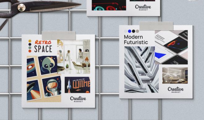 Moodboard Series: Space Age Design