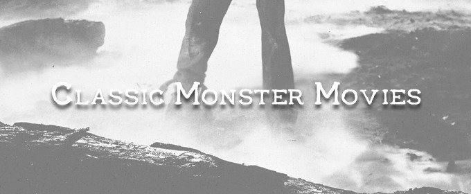 The Typography of Classic Monster Movies