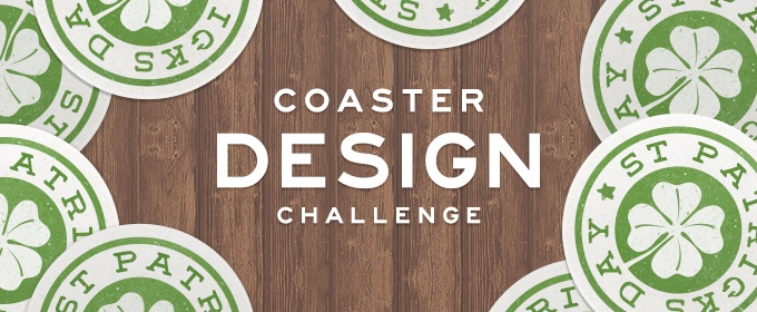 St. Patrick's Day Coaster Design Challenge
