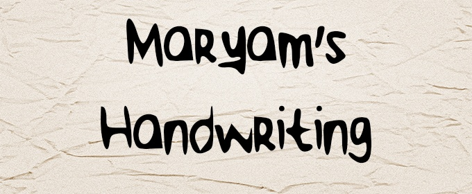 How to Make Your Handwriting into a Font