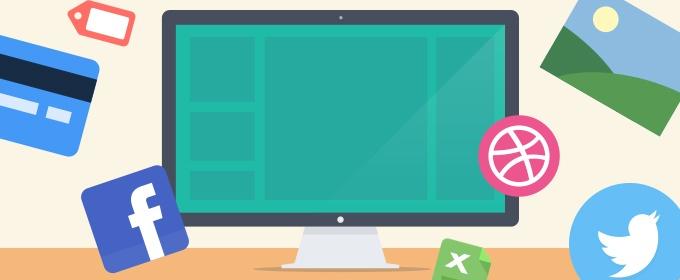 Creative Examples of Flat Web Design