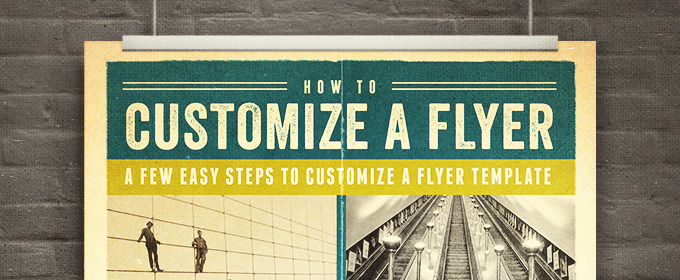How To Customize A Flyer Template Creative Market Blog