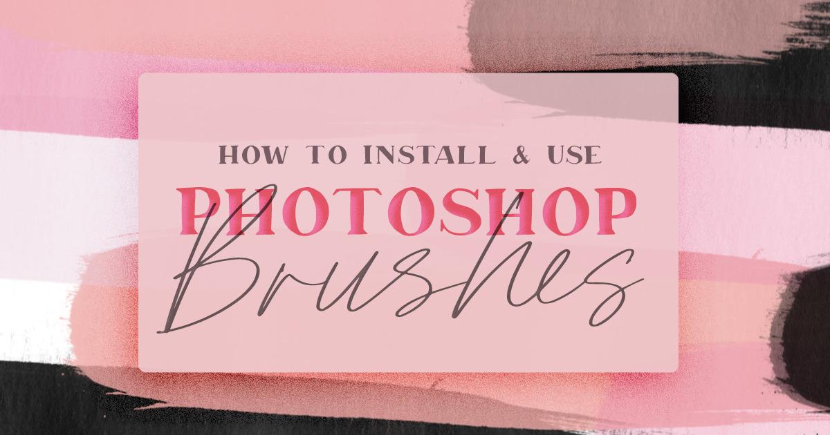 install brushes photoshop cc mac