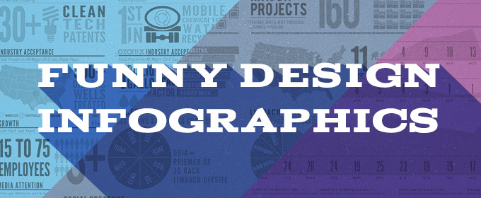 16 Funny and Informative Infographics about Design