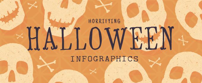 16 Horrifying Halloween Infographics