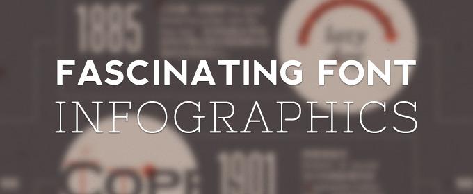 5 Fascinating Font Infographics