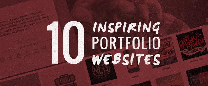 10 Inspiring Portfolio Websites