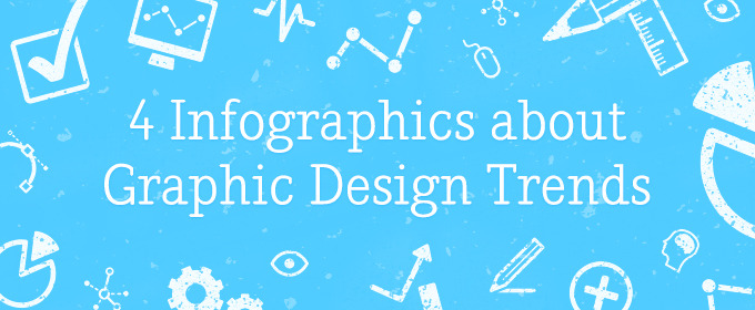 4 Infographics about Graphic Design Trends