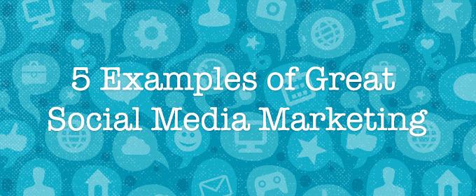 5 Examples of Great Social Media Marketing ~ Creative Market Blog