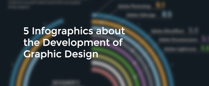 5 Infographics about the Development of Graphic Design