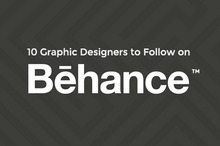 10 Graphic Designers to Follow on Behance