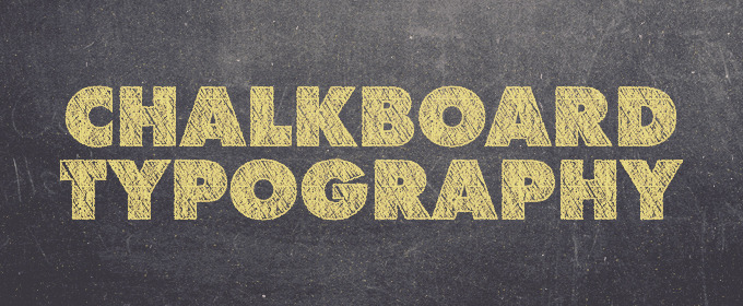 10 Creative Examples of Chalkboard Typography ~ Creative Market Blog