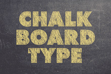 10 Creative Examples of Chalkboard Typography