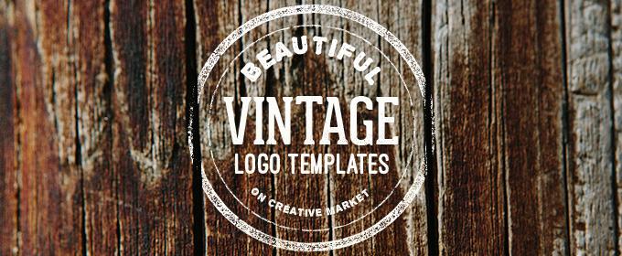25 Beautiful Vintage Logo Templates