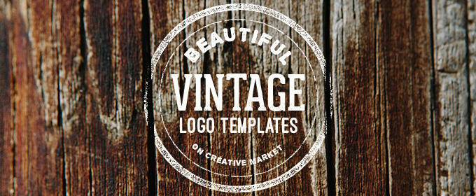 2957ec8a 25 Beautiful Vintage Logo Templates. By Creative Market ...