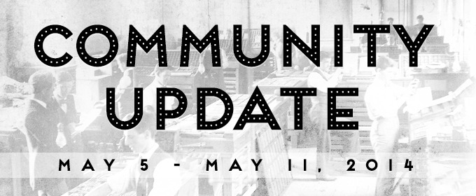 Creative Market Community Update for May 5 - May 11