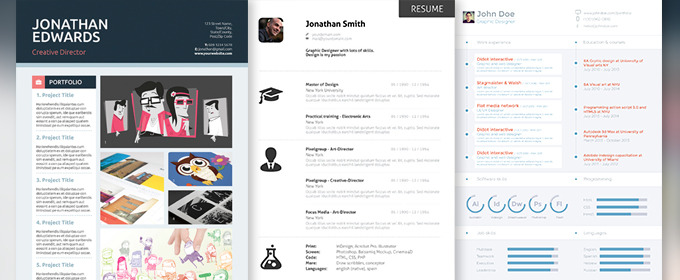 Amazing 10 Professional Resume Templates To Help You Land That New Job Pictures Gallery