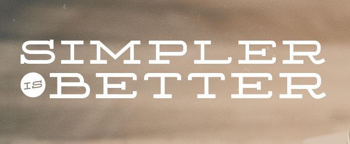 Learn Web Design: Simpler is Better