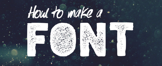 Tyler Finck on Type Design: How to Make a Font