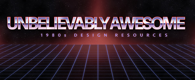 15 Unbelievably Awesome 1980s Design Resources