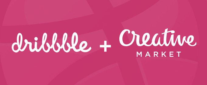 New: Promote Your Creative Market Shop Items on Dribbble