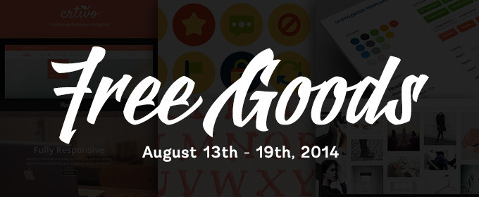 Free Goods of the Week: October 13, 2014