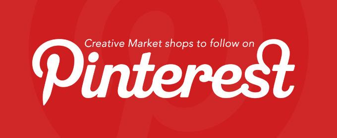 50 Creative Market Shops to Follow on Pinterest