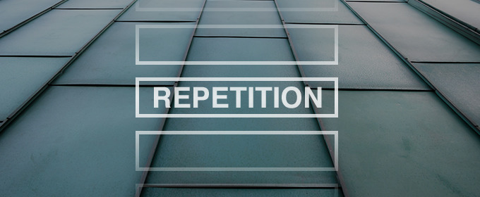 Learn web design how repetition leads to rhythm - How to learn web designing at home free ...