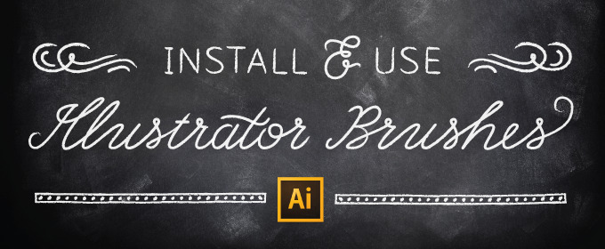 How to Install and Use Illustrator Brushes