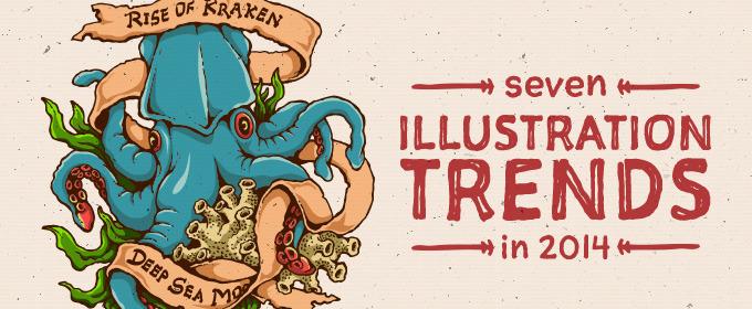 7 Illustration Trends in 2014