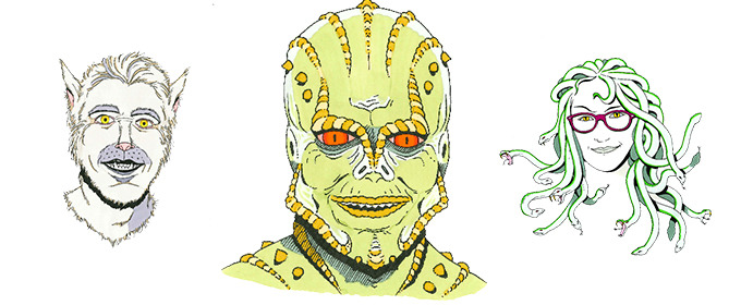 Halloween Graphic: Meet the Monsters that Build Creative Market