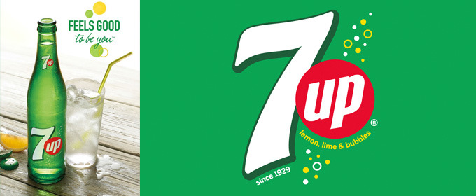 7UP's New Logo Goes Old School